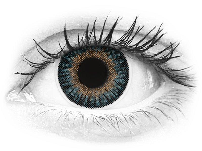 ColourVUE 3 Tones Blue - bez dioptrije (2kom leća) - ColourVUE 3 Tones Blue - bez dioptrije (2kom leća)