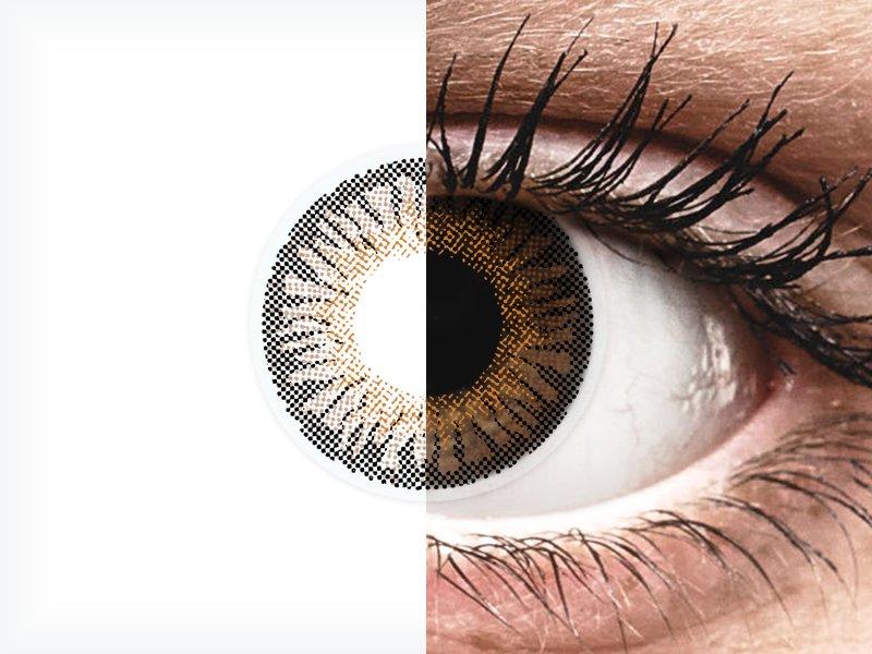 ColourVUE 3 Tones Brown - bez dioptrije (2kom leća)