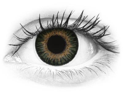 ColourVUE 3 Tones Green - dioptrijske (2kom leća)
