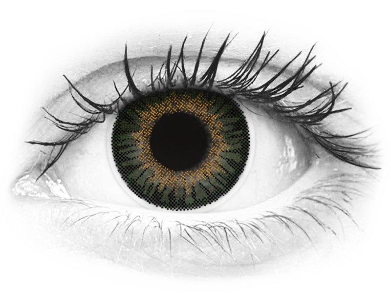 ColourVUE 3 Tones Green - dioptrijske (2kom leća) - ColourVUE 3 Tones Green - dioptrijske (2kom leća)