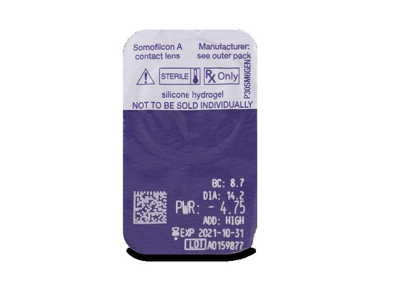 Clariti Multifocal (6 kom leća) - Pregled blister pakiranja