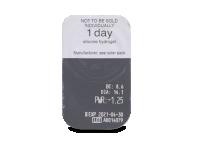 Clariti 1 day (30 kom leća) - Pregled blister pakiranja