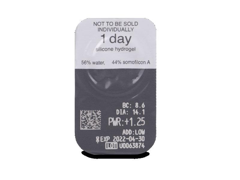 Clariti 1 day Multifocal (30 kom leća) - Pregled blister pakiranja