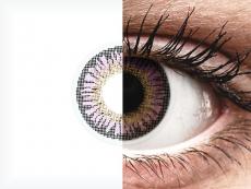 ColourVUE 3 Tones Violet - bez dioptrije (2kom leća)