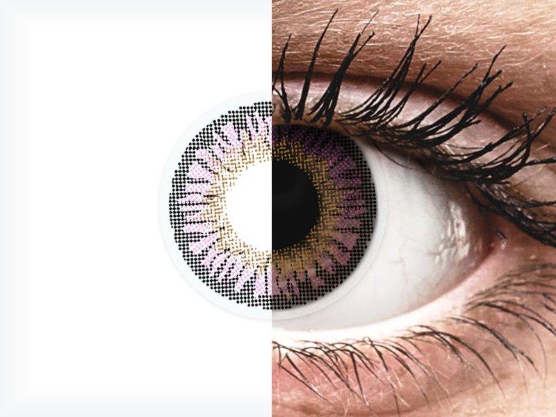 ColourVUE 3 Tones Violet - bez dioptrije (2kom leća) - ColourVUE 3 Tones Violet - bez dioptrije (2kom leća)