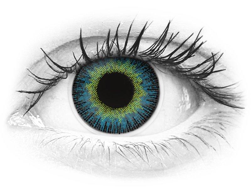 ColourVUE Fusion Yellow Blue - dioptrijske (2kom leća)