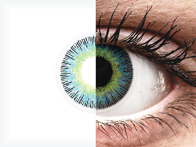 ColourVUE Fusion Yellow Blue - bez dioptrije (2kom leća)