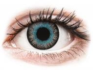 Plave kontaktne leće - nedioptrijske - ColourVUE Fusion Blue Gray - bez dioptrije (2kom leća)
