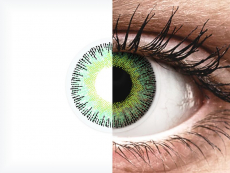 ColourVUE Fusion Green Yellow - bez dioptrije (2kom leća)