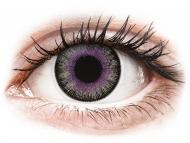 Leće u boji bez dioptrije - ColourVUE Fusion Violet Gray - bez dioptrije (2kom leća)