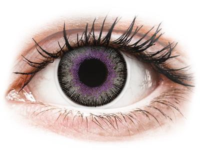 ColourVUE Fusion Violet Gray - bez dioptrije (2kom leća)