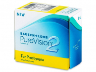 Mjesečne kontaktne leće - PureVision 2 for Presbyopia (6 kom leća)