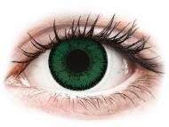 Zelene kontaktne leće - nedioptrijske - SofLens Natural Colors Aquamarine - nedioptrijske (2 kom leća)