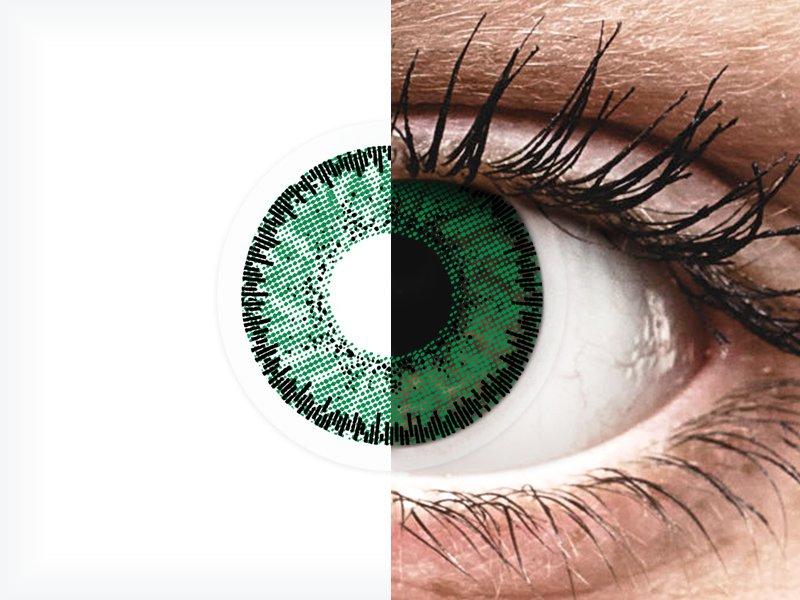 SofLens Natural Colors Emerald - dioptrijske (2 kom leća)