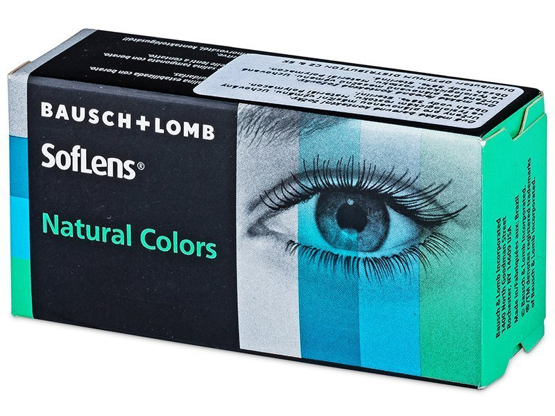 SofLens Natural Colors Emerald - nedioptrijske (2 kom leća)
