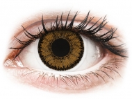 Smeđe kontaktne leće - dioptrijske - SofLens Natural Colors India - dioptrijske (2 kom leća)
