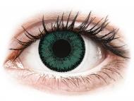 Zelene kontaktne leće - dioptrijske - SofLens Natural Colors Jade - dioptrijske (2 kom leća)