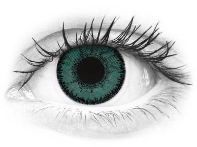 SofLens Natural Colors Jade - dioptrijske (2 kom leća)
