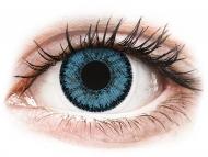 Plave kontaktne leće - dioptrijske - SofLens Natural Colors Pacific - dioptrijske (2 kom leća)