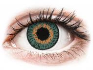 Plave kontaktne leće - nedioptrijske - Expressions Colors Aqua - nedioptrijske (1 leća)