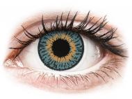 Kontaktne leće Coopervision - Expressions Colors Blue - nedioptrijske (1 leća)
