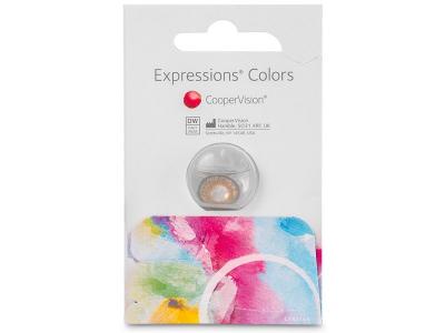 Expressions Colors Blue - nedioptrijske (1 leća)