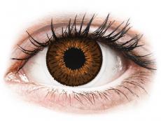 Expressions Colors Brown - nedioptrijske (1 leća)