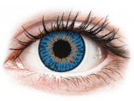 Plave kontaktne leće - nedioptrijske - Expressions Colors Dark Blue - nedioptrijske (1 leća)