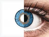 Expressions Colors Dark Blue - nedioptrijske (1 leća)