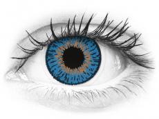 Expressions Colors Dark Blue - dioptrijske (1 leća)