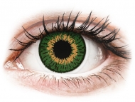 Leće u boji bez dioptrije - Expressions Colors Green - nedioptrijske (1 leća)
