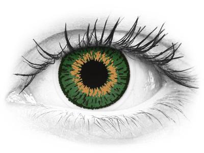 Expressions Colors Green - dioptrijske (1 leća)