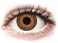 Smeđe kontaktne leće - dioptrijske - Expressions Colors Hazel - dioptrijske (1 leća)