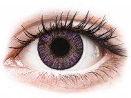 Dioptrijske leće u boji - FreshLook ColorBlends Amethyst - dioptrijske (2 kom leća)
