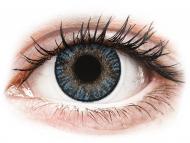 Plave kontaktne leće - bez dioptrije - FreshLook ColorBlends Blue - nedioptrijske (2 kom leća)