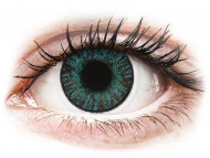 Dioptrijske leće u boji - FreshLook ColorBlends Brilliant Blue - dioptrijske (2 kom leća)