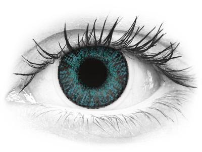 FreshLook ColorBlends Brilliant Blue - dioptrijske (2 kom leća)