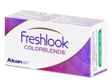 FreshLook ColorBlends Brilliant Blue - nedioptrijske (2 kom leća)