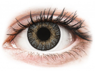 Sive kontaktne leće - dioptrijske - FreshLook ColorBlends Grey - dioptrijske (2 kom leća)