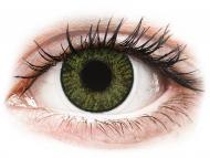 Zelene kontaktne leće - nedioptrijske - FreshLook ColorBlends Green - nedioptrijske (2 kom leća)