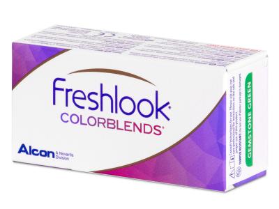 FreshLook ColorBlends Green - nedioptrijske (2 kom leća)