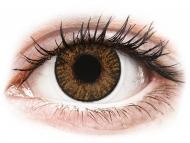 Smeđe kontaktne leće - dioptrijske - FreshLook ColorBlends Honey - dioptrijske (2 kom leća)