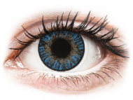 Plave kontaktne leće - bez dioptrije - FreshLook ColorBlends True Sapphire - nedioptrijske (2 kom leća)
