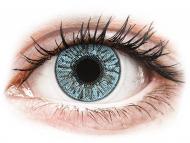 Plave kontaktne leće - bez dioptrije - FreshLook Colors Blue - nedioptrijske (2 kom leća)