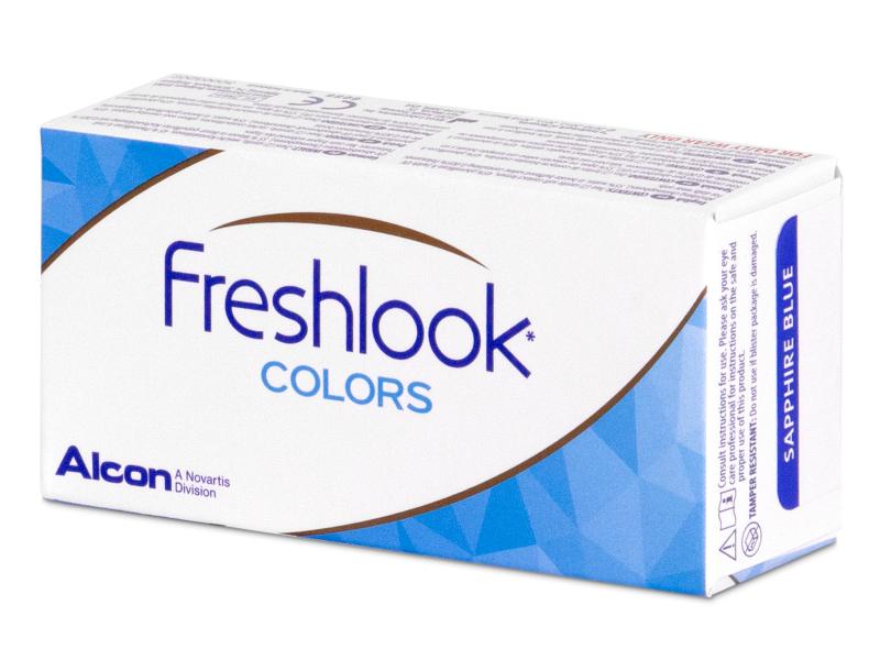 FreshLook Colors Blue - nedioptrijske (2 kom leća)