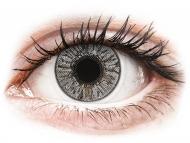 Sive kontaktne leće - dioptrijske - FreshLook Colors Misty Gray - dioptrijske (2 kom leća)