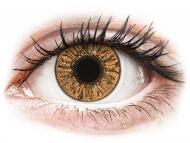 Smeđe kontaktne leće - bez dioptrije - FreshLook Colors Hazel - nedioptrijske (2 kom leća)