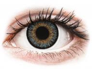 Plave kontaktne leće - bez dioptrije - FreshLook One Day Color Blue - nedioptrijske (10 kom leća)