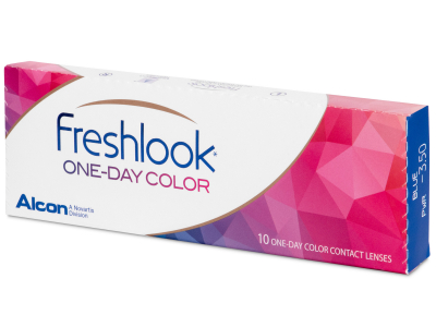 FreshLook One Day Color Grey - nedioptrijske (10 kom leća)