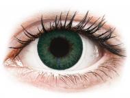 Zelene kontaktne leće - dioptrijske - FreshLook Dimensions Carribean Aqua - dioptrijske (6 kom leća)